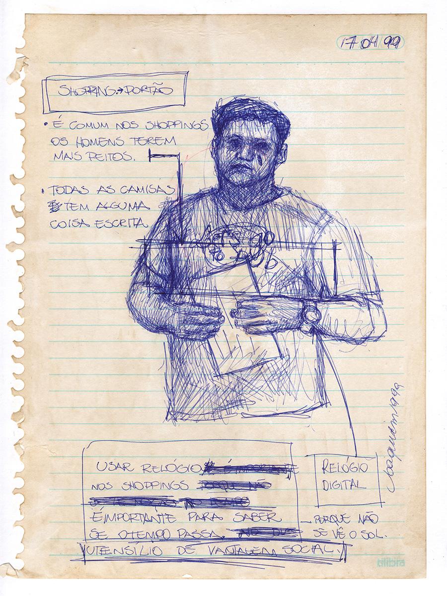 Desenho atribuído a Joaquim de Souza - Fase 1 - 1999.04.17_(19.00)