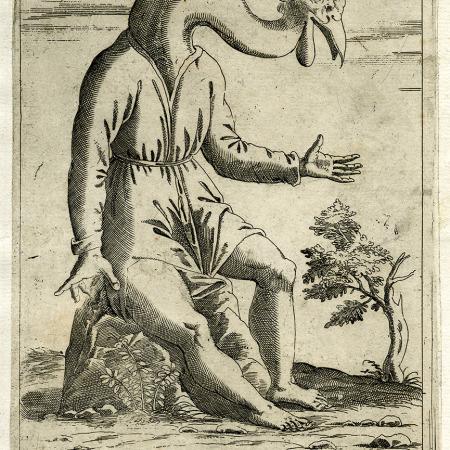 Gravura original de Giovanni Battista de Cavalieri
