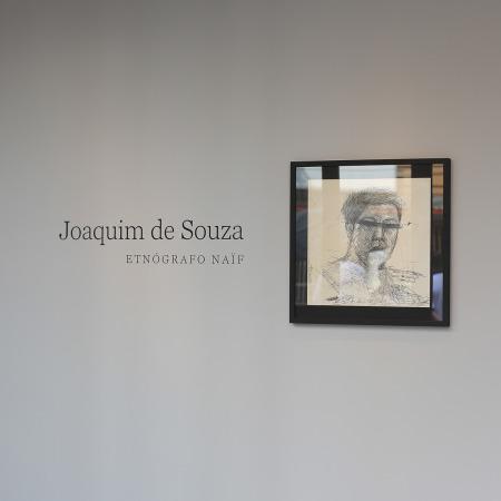 Entrada da exposição - Montagem na Galeria Paralelo - São Paulo/SP - 2014