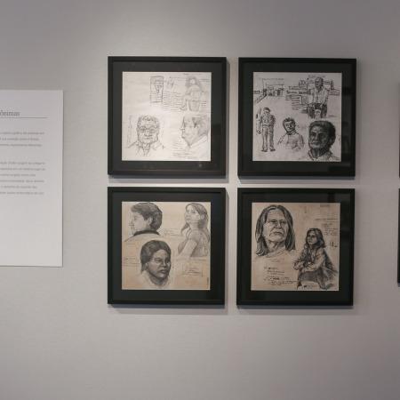 Vista da instalação - Montagem na Galeria Paralelo - São Paulo/SP - 2014