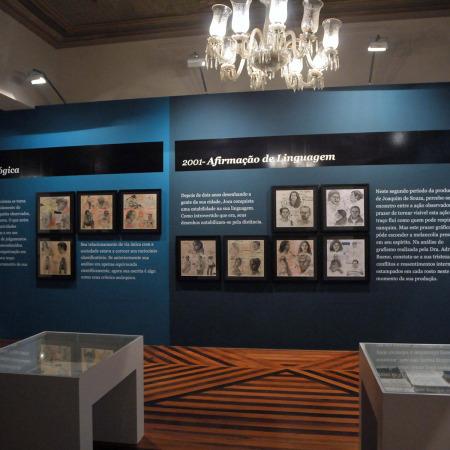 Vista da instalação (Fases 2 e 3) - Montagem no Solar do Barão - Museu da Gravura cidade de Curitiba - 2010