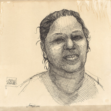 Retrato da mãe de Joaquim