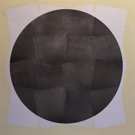 Composição utilizando apenas as impressões dos blocos dos Paralelos
