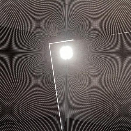 Detalhe da composição utilizando apenas as impressões dos blocos dos Meridianos - foto Elenize Dezgeniski